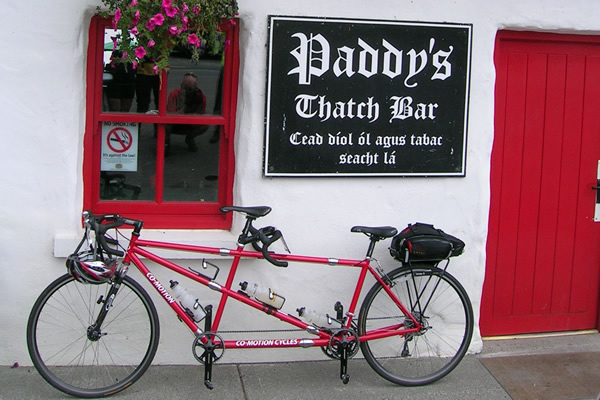 Photo of past Ireland tandem tour