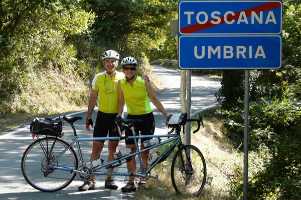 Photo from past Italy Tandem Tour